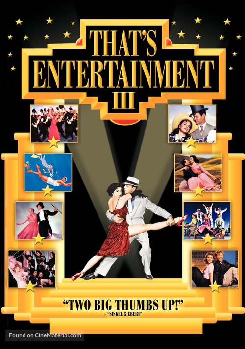 That's Entertainment! III - DVD movie cover