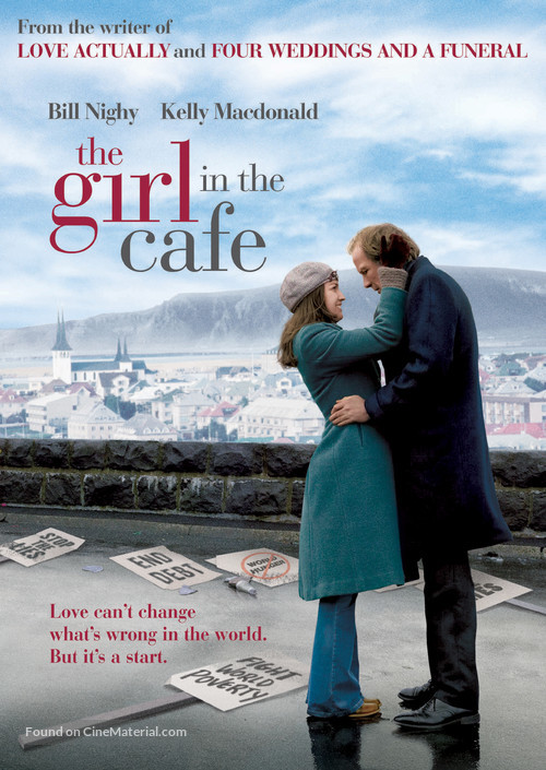 The Girl in the Café - Movie Poster