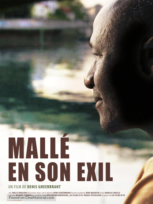 Mallé en son exil - French Movie Poster