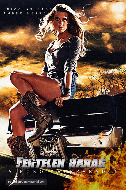 Drive Angry Hungarian Movie Poster