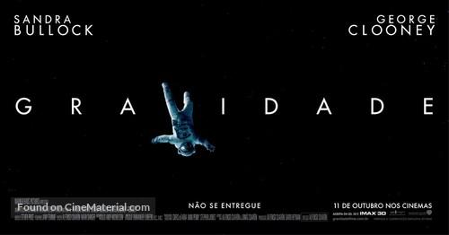Gravity - Brazilian Movie Poster