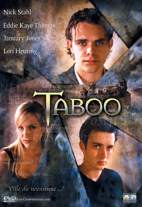 Taboo - Norwegian Movie Cover