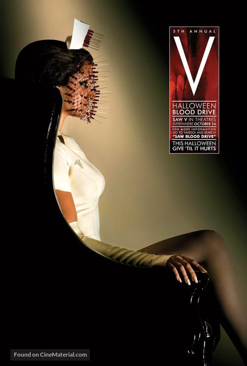 Saw V - Movie Poster