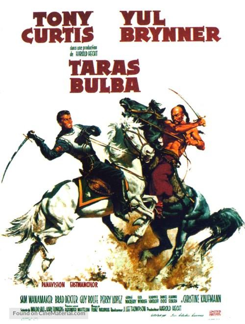 Taras Bulba - French Movie Poster
