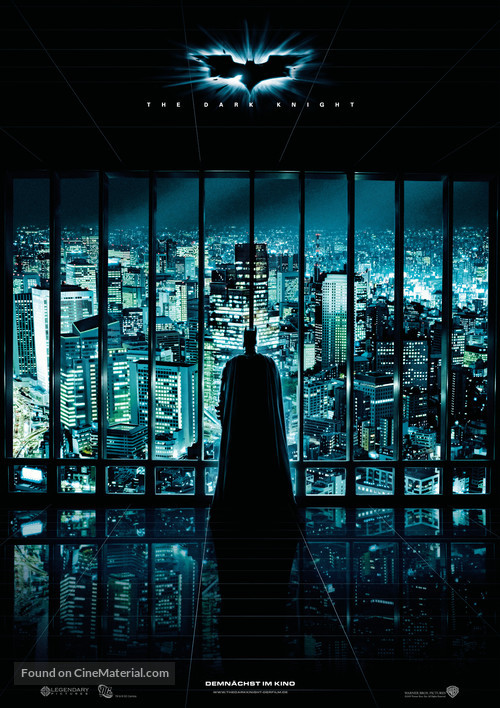 The Dark Knight - German Movie Poster