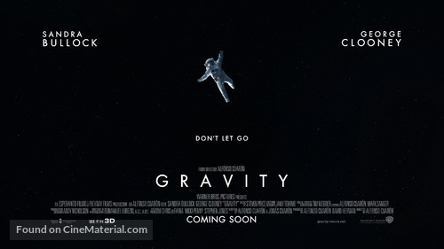 Gravity - British Movie Poster