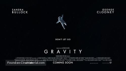 Gravity - British Movie Poster