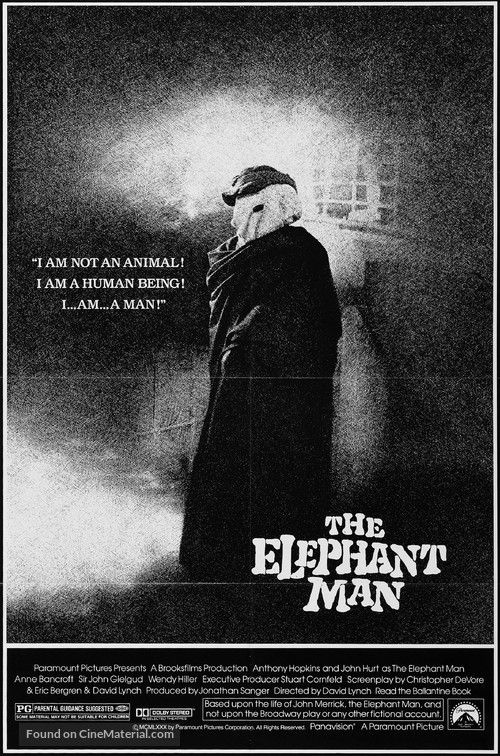 The Elephant Man - Movie Poster