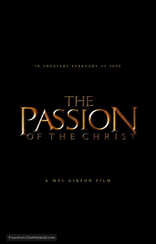 The Passion of the Christ - Movie Poster
