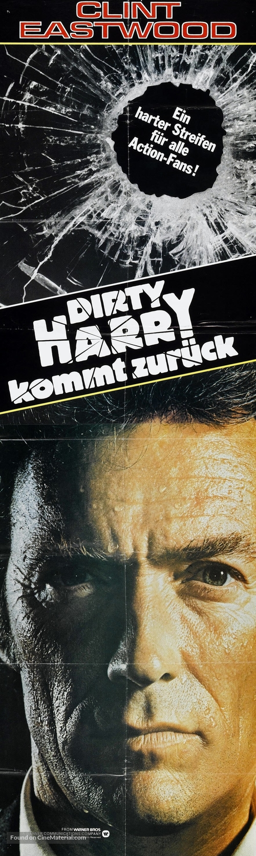 Sudden Impact - German Movie Poster