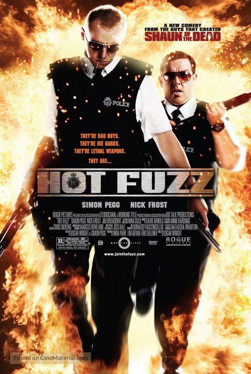 Hot Fuzz - poster