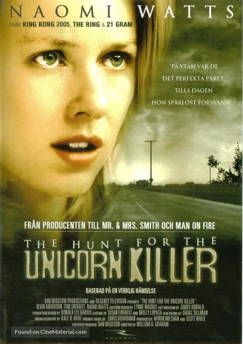 The Hunt for the Unicorn Killer - Swedish poster