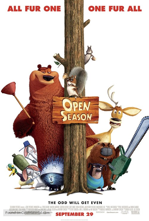 Open Season - Movie Poster