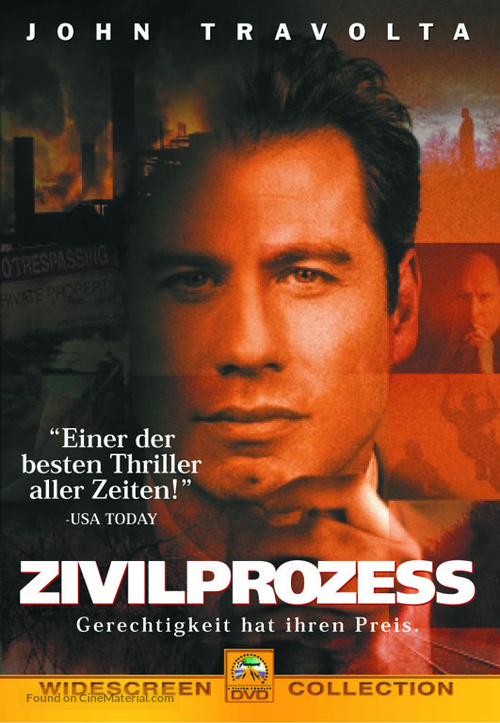 A Civil Action - German Movie Cover