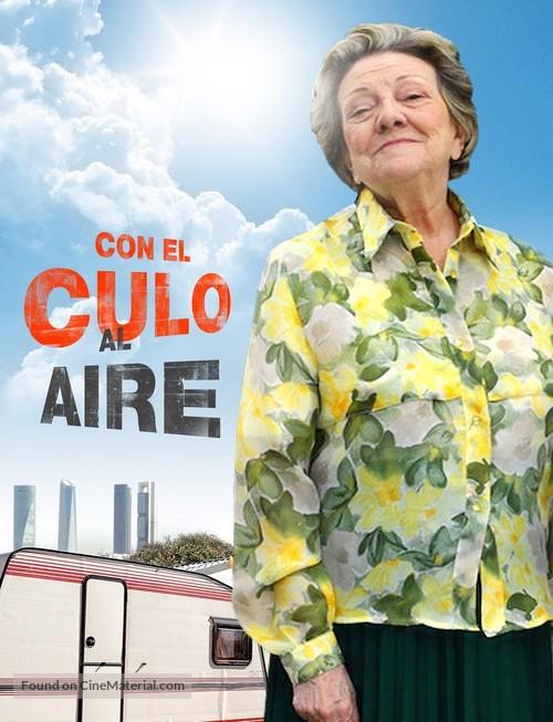 """""""Con el culo al aire"""" - Spanish Movie Poster"""