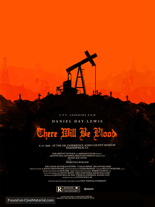 There Will Be Blood - Homage poster