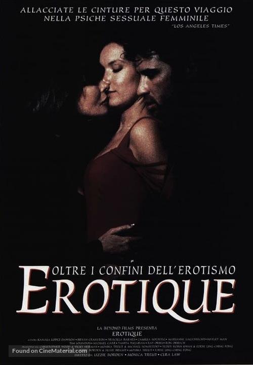 Erotique - Italian Movie Poster