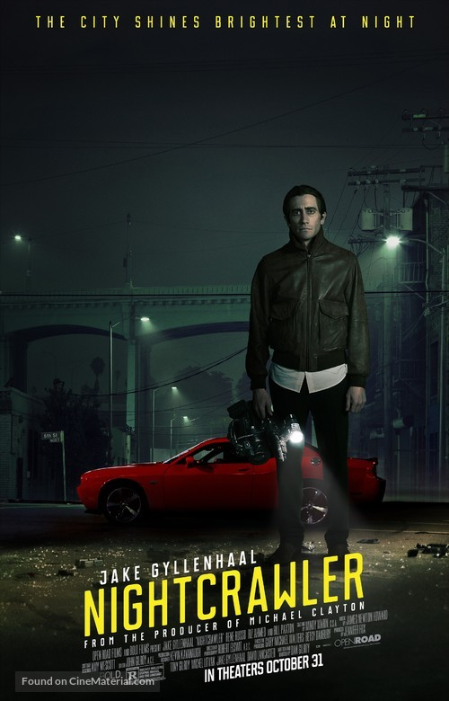 Nightcrawler - Theatrical poster