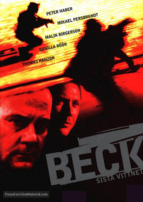 """Beck"" Sista vittnet - Swedish poster"