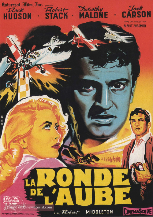 The Tarnished Angels - French Movie Poster