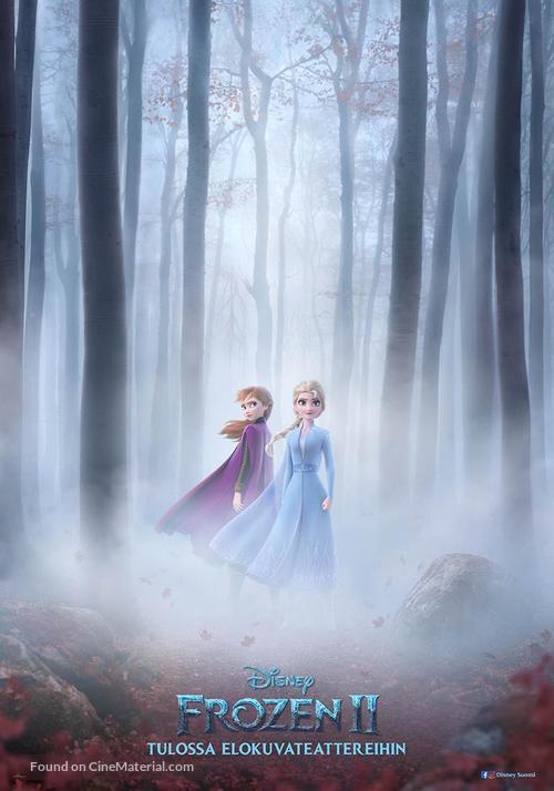 Frozen II - Finnish Movie Poster
