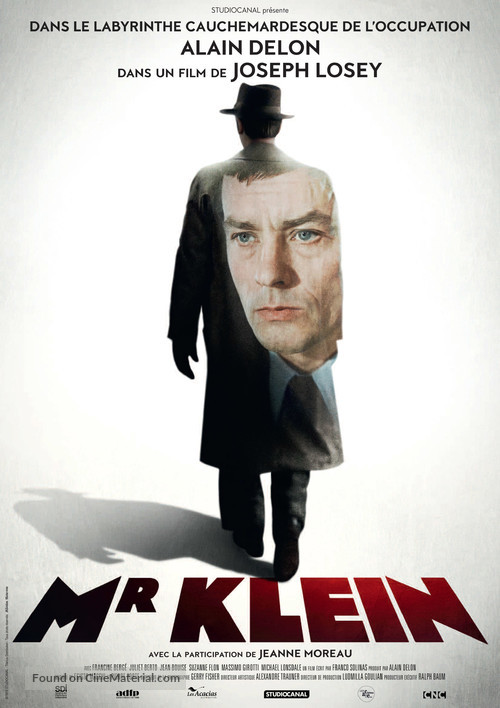 Monsieur Klein - French Re-release poster