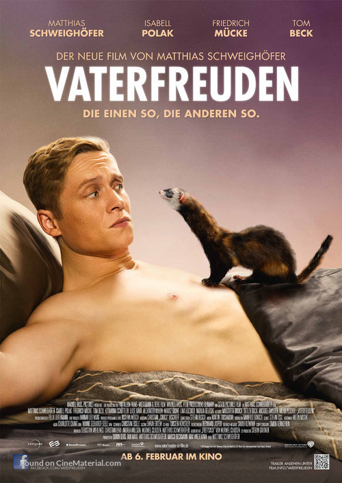 Vaterfreuden - German Movie Poster