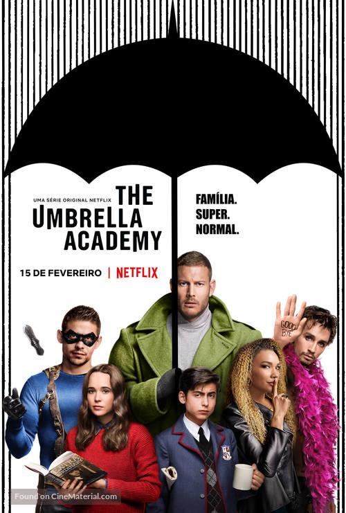 """The Umbrella Academy"" - Brazilian Movie Poster"