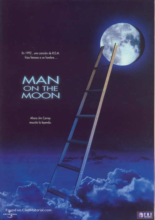 Man on the Moon Spanish movie poster