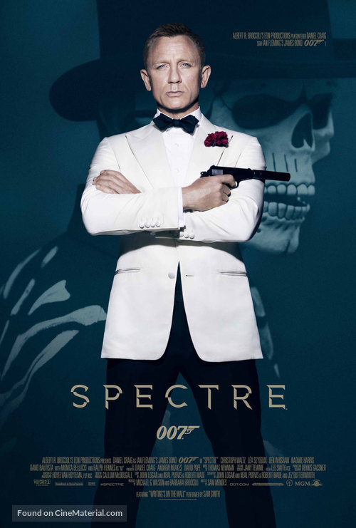 Spectre - Danish Movie Poster