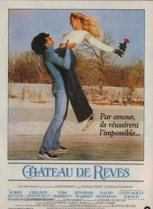 Ice Castles - French Movie Poster