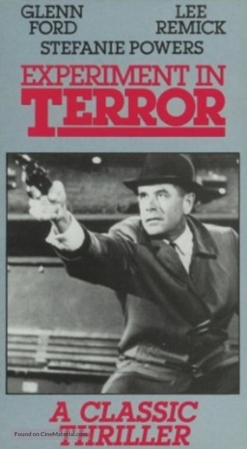 Experiment in Terror - Movie Cover