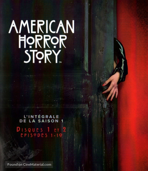 """""""American Horror Story"""" - French Blu-Ray movie cover"""
