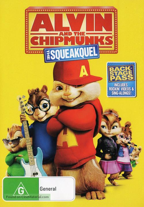 Alvin and the Chipmunks: The Squeakquel - Australian Movie Cover