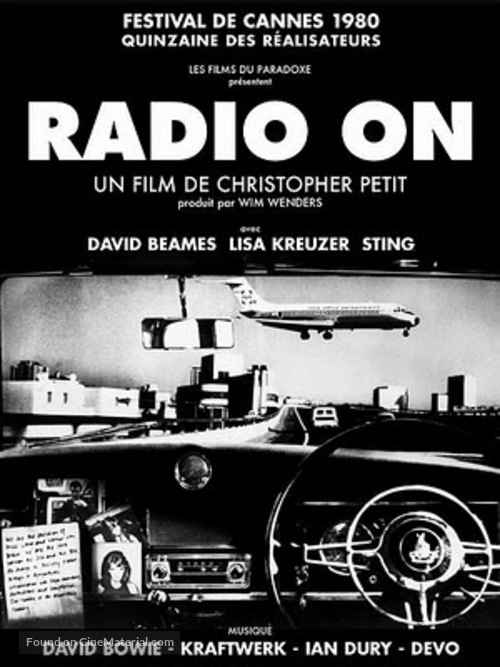 Radio On - French DVD cover