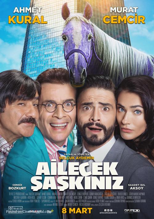 Ailecek Saskiniz - German Movie Poster