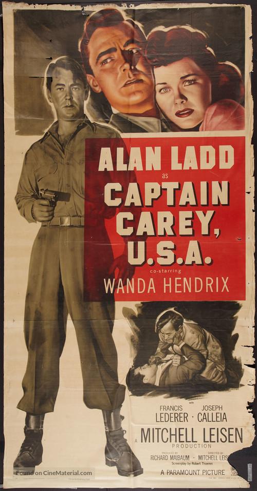 Captain Carey, U.S.A. - Movie Poster