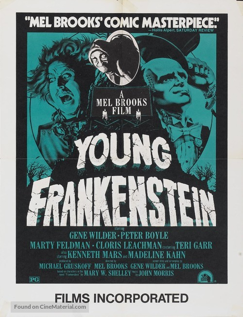 Young Frankenstein - Movie Poster