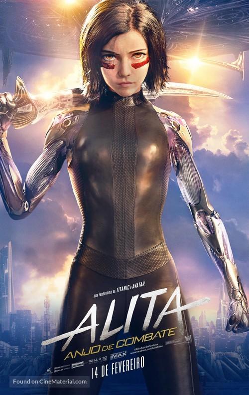 Alita: Battle Angel - Brazilian Movie Poster
