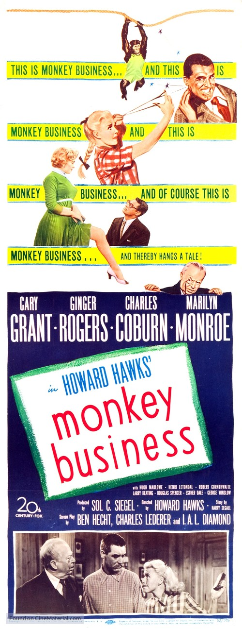 Monkey Business - Movie Poster