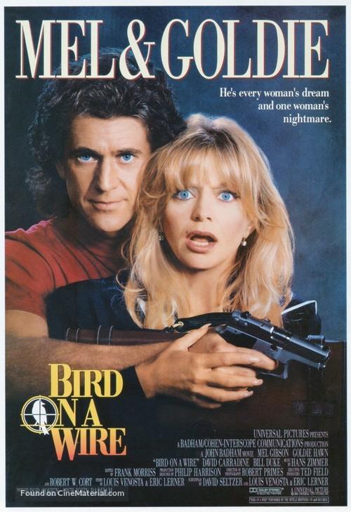 Bird on a Wire - Movie Poster