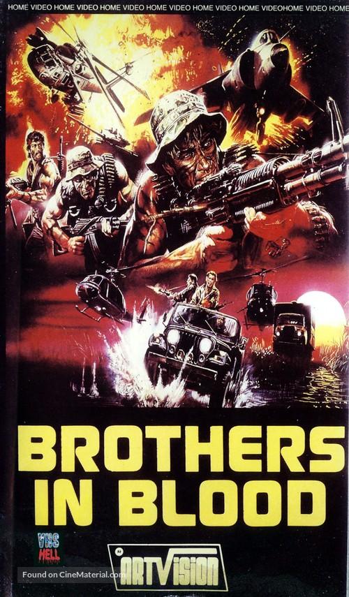 La sporca insegna del coraggio - VHS movie cover