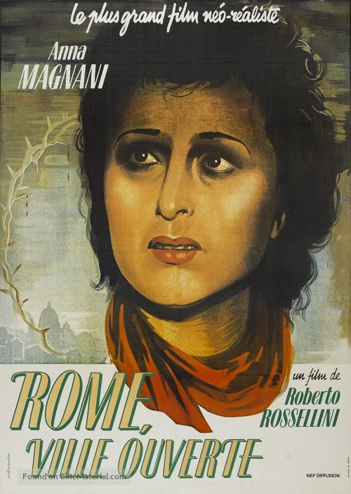 Roma, città aperta - French Re-release poster