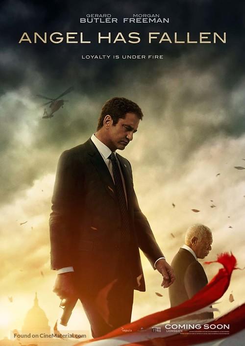 Angel Has Fallen - Swiss Movie Poster