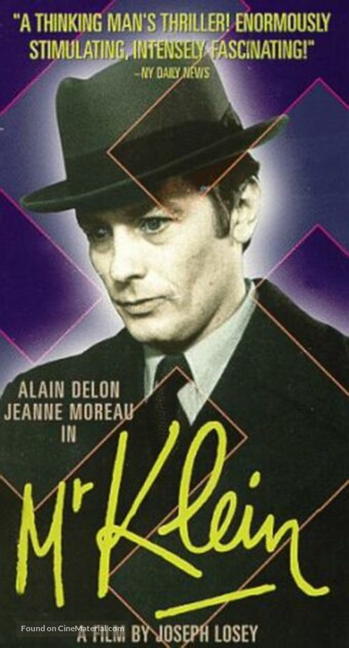 Monsieur Klein - VHS cover