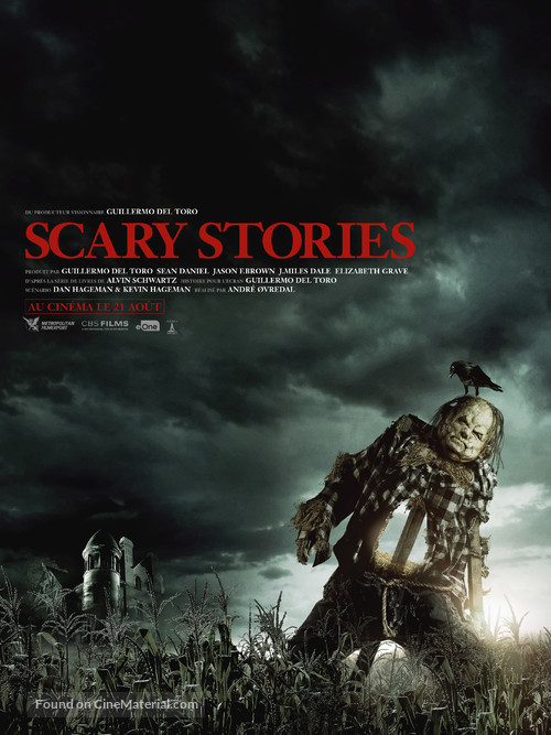 Scary Stories to Tell in the Dark - French Movie Poster