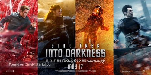 Star Trek: Into Darkness - Movie Poster