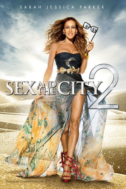 Sex and the City 2 - DVD cover