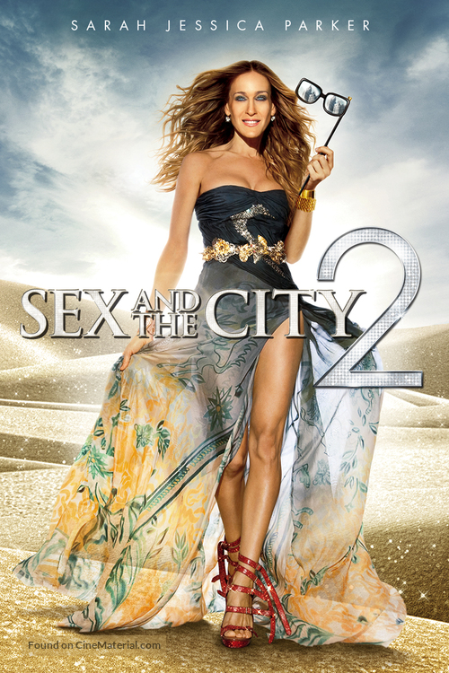 Sex and the City 2 - DVD movie cover