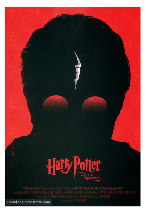 Harry Potter and the Deathly Hallows: Part I - British poster